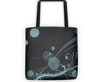All-over Printed Tote Bag