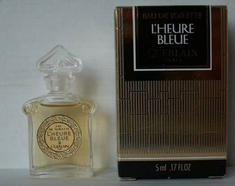 Miniature toilet water the time blue GUERLAIN 5 ml
