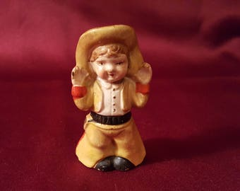 cowboy salt and pepper shakers
