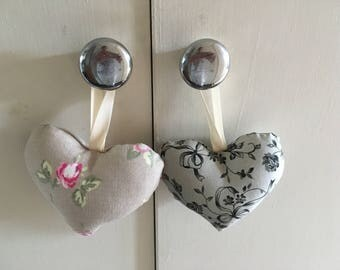 Lavender or stuffed hearts set of 2