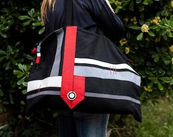 Big Bag - Borsone - Borsa grande - Borsa da viaggio - Travel Bag - Handmade Bag - Cotton Bag - Borsa fatta a mano - Borsa in cotone