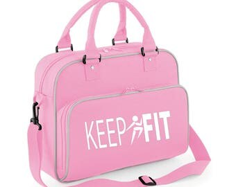 iLeisure Girls Keep Fit Running Figure Bag.