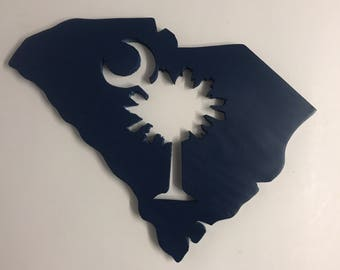 South Carolina Palmetto Tree wood cutout