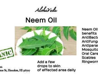 Neem Oil - Organic