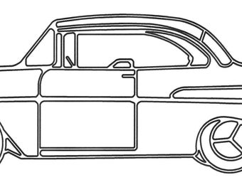 Wireart 1957 Chevy