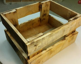 Old Time Freight Box - Pallet Wood