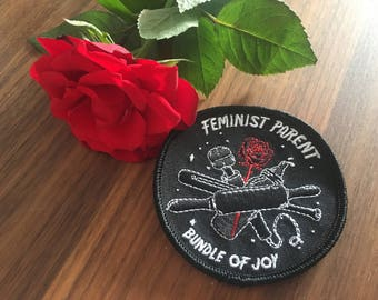feminist parent patch