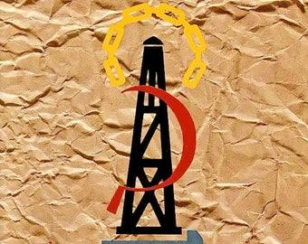 Depeche Mode concert poster