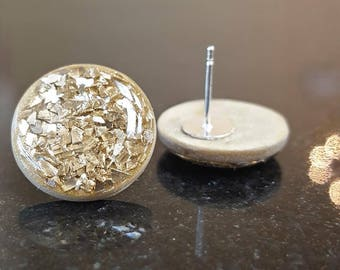 Envy Gold Chip Studs