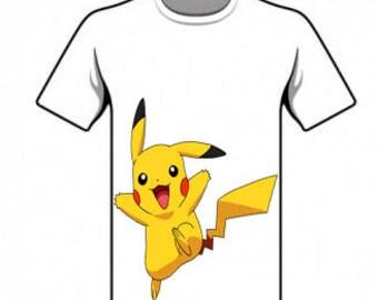 T-Shirt pikachu - Digital, PNG, img, Pokemon.