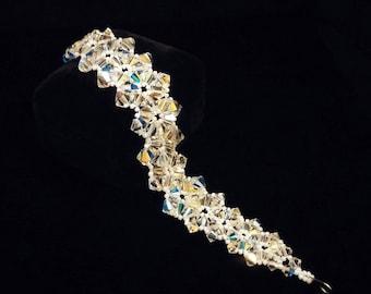 Crystal Dream Bracelet, Swarovski, Handmade