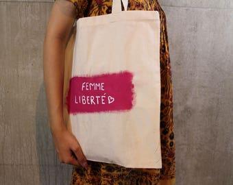 Femme L'Iiberte Pink Tote