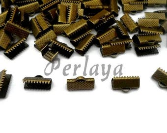REF2631 - set of 100 bronze 13mm Ribbon claws