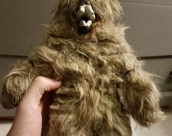 Bear Stop Motion puppet