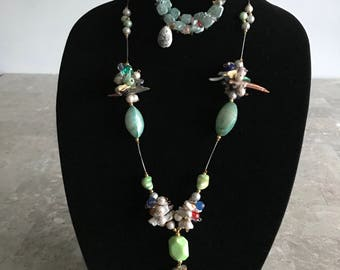 Natural Pearls Jewelry Set