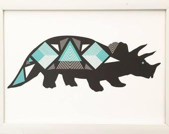 Geo Dino Black