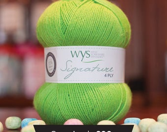 West Yorkshire Spinners Signature 4 ply - Sour Apple