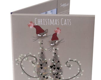 Cat Food Christmas Card Pack