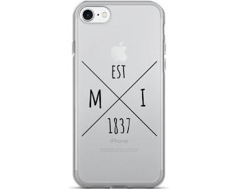 Michigan Statehood - iPhone Case (iPhone 7/7 Plus, iPhone 8/8 Plus, iPhone X)