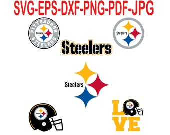 Pittsburgh Steelers.Svg,eps,dxf,png,png,jpg.