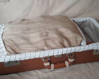 Vintage hand crafted pet bed