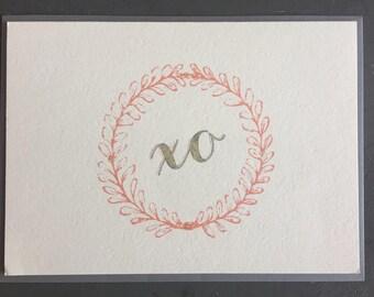 XO (Greeting Card)
