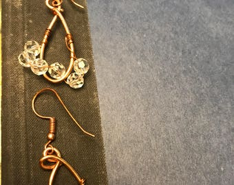 Anthropologie knock-off copper danglies