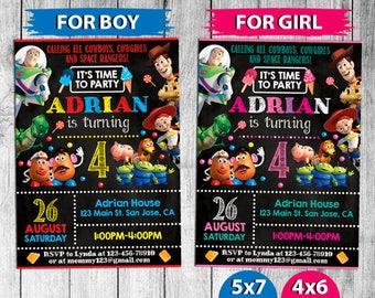 Toy Story Invitation, Toy Story Birthday, Toy Story Invites, Toy Story Party, Toy Story Party Printables, Toy Story Custom, Toy Story Evite