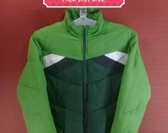 Vintage Flourishing Jacket Sweater Windbreaker The Classic Fashion Down Jacket Puffer Green MultiColour Size XL Moncler Goose Down Jackets
