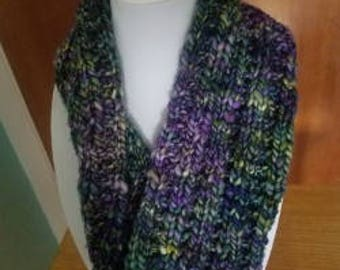 Green and Purple Cowl
