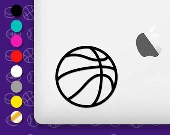 basketball ball, basketball decal, basketball vinyl, basketball sticker, ball decal, ball sticker, ball vinyl, basketball car