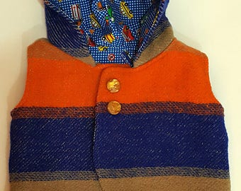 Upcyled Woolen Vest