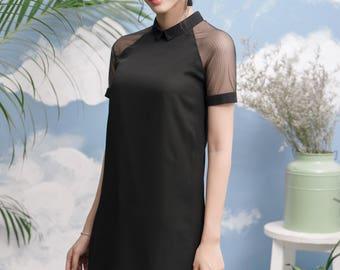 Black Dress Formal Elegant Office