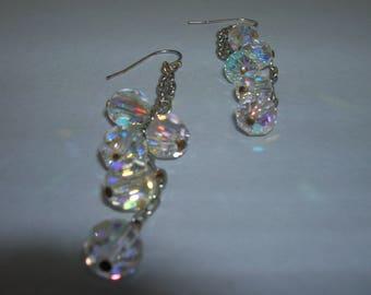 Swavorski crystal earrings