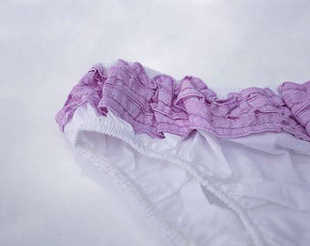 Orchid Ruffle Bloomer