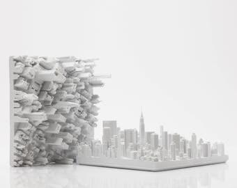 Microscape 09-F Chrysler Building 3D Printed Model