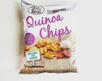 Quinoa Crisps - Sundried Tomato & Roasted Garlic