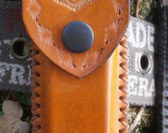 leather case for standard knife 13 cm