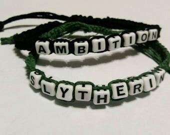 Slytherin-Harry Potter Bracelet