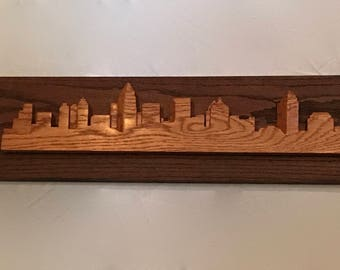 City Skyline ( 3D w/ Backdrop)