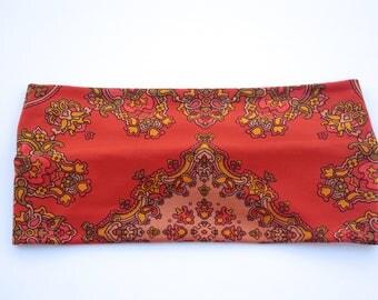 Orange Boho Headband 1