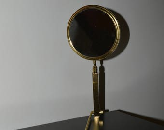 Vintage English Travel Mirror