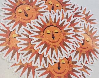 One Golden Sun - Vinyl Sticker