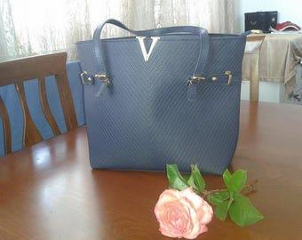 Royal Blue Casual lady Hangbag