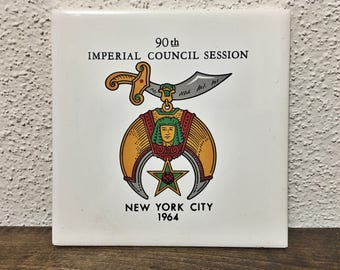 90th Imperial Council Session Hot Plate (1964)