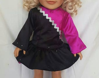 Irish dance Doll Dress