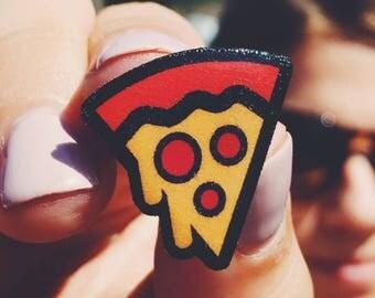 Pizza Slice Handmade Pin