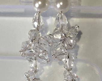 Wedding earrings, bridal earrings, Bridal jewelry, Wedding jewelry, arrings