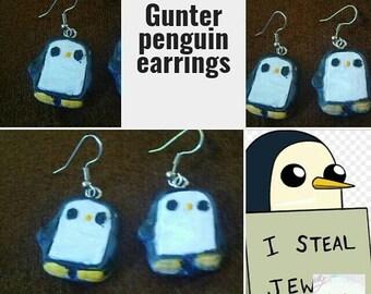 Gunter adventure time earrings
