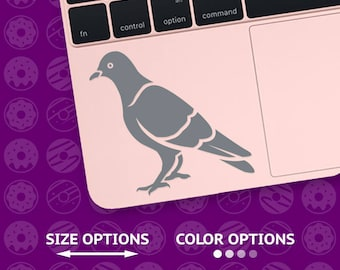 pigeon, pigeon decal, pigeon vinyl, pigeon sticker, pigeon vinyl decal, dove decal, dove sticker, dove vinyl, bird decal, bird sticker